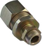 КВ20-М - кабельный ввод для монтажа кабелем в металлорукаве с условным проходом Ф=20 мм для LTV-Ex-R-M-01